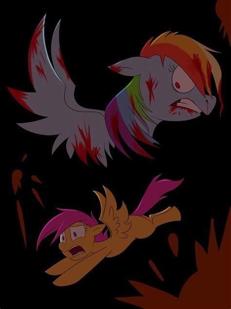 rainbow dash amp scootaloo sing pegasus device foal ver