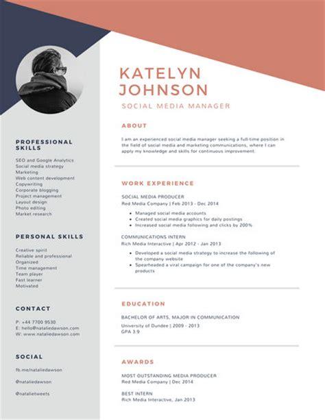 canva company profile corporate resume templates canva