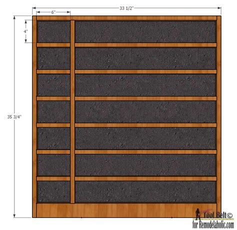 Build A Calendar Remodelaholic Build A Divided Chalkboard Calendar