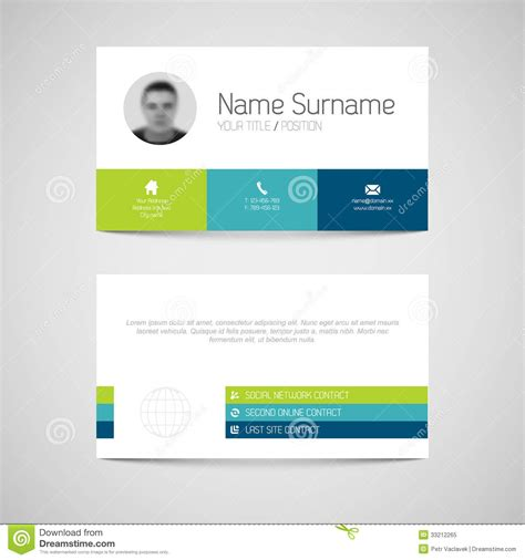 free business card template for illustrator wisxi com