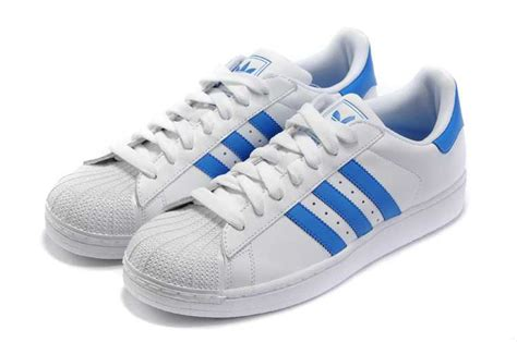 beautiful adidas superstar ii blue white shoes well