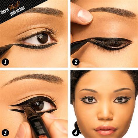 tutorial wearing eyeliner 146 best images about winged eyeliner on pinterest