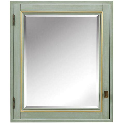 design house claremont 36 in w tri view mirrored medicine