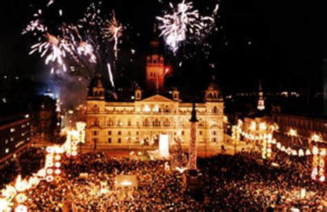 new year parade glasgow glasgow tourist attractions festivals events in glasgow