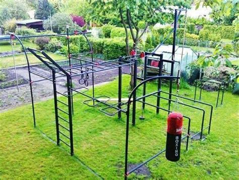 monkey bars for backyard very elaborate monkey bar set up lots of fitness to be
