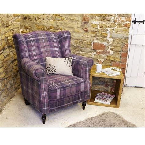 Purple Tartan Armchair Purple Tartan Chair Search Living Room