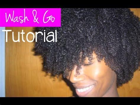 wash and go on 4a and 4b natural hair short hairstyle 2013 wash and go tutorial defining 4a 4b natural hair kashtv