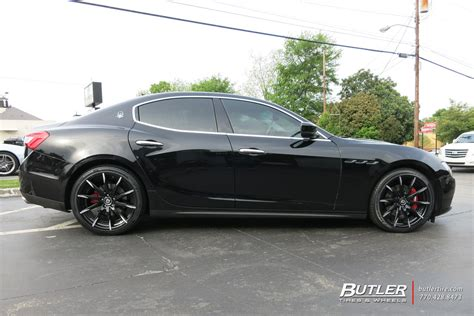 Wheels Maserati Maserati Ghibli With 20in Lexani Css15 Wheels Exclusively