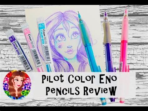 eno colors pilot color eno mechanical pencils review and