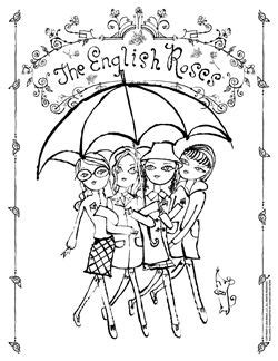 Madonna Writing Yet Another Crappy Childrens Book by Madonna S The Roses Coloring Pages