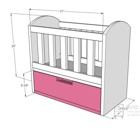 Olivia S Doll Crib The Nex Project For Bella S Bitty Baby Baby Crib Sizes