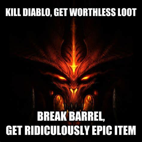 Diablo Meme - livememe com