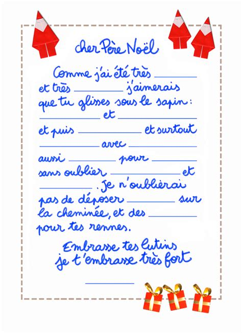 Exemple De Lettre Venant Du Pere Noel Lettre Du 2 D 233 Cembre