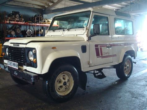 land rover defender diesel 1988 land rover defender 90 turbo diesel runs drives great
