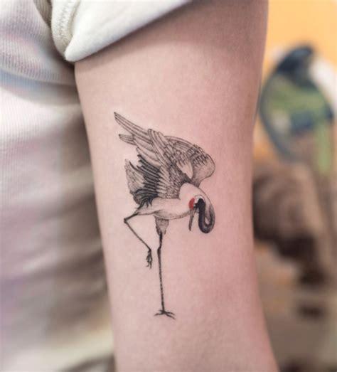 crane tattoo inkstylemag