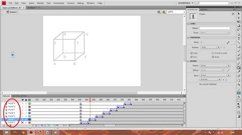 membuat video jadi animasi membuat animasi kubus sederhana dengan adobe flash edu softs