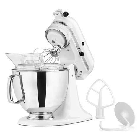 KitchenAid KSM150PSWH 10 Speed Stand Mixer w/ 5 qt