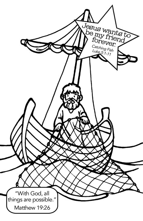 christian fish coloring page fishing with jesus coloring page yahoo image search