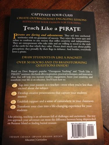 teach like a pirate increase student engagement boost your creativity and transform your as an educator teach like a pirate increase student engagement boost