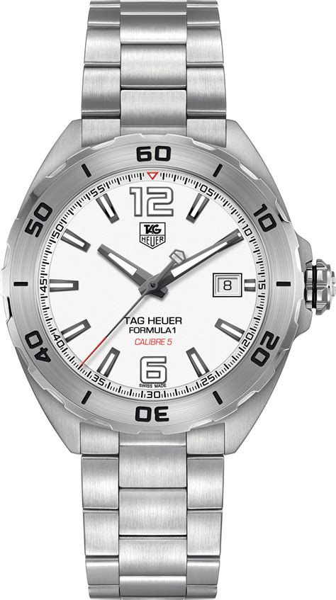 Elegan F1 Tag Heuer waz2114 ba0875 tag heuer formula one mens steel automatic brand new