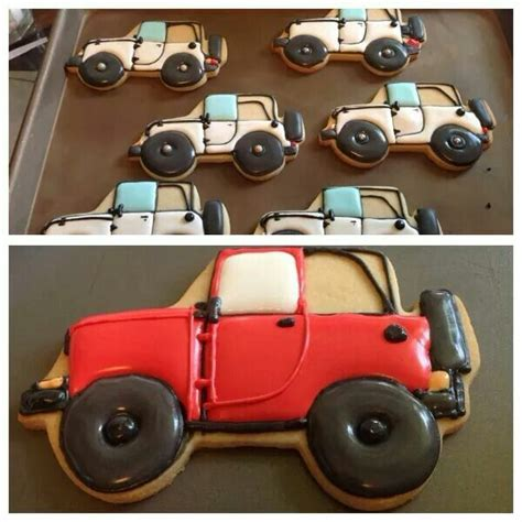 jeep cookies jeep made with all things jeep cookie cutters made by