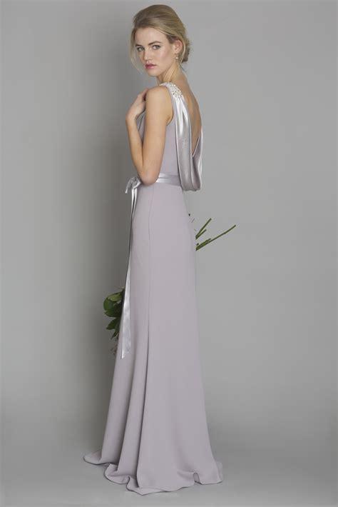 light grey dress light grey style dc1181 bridesmaid evening debs