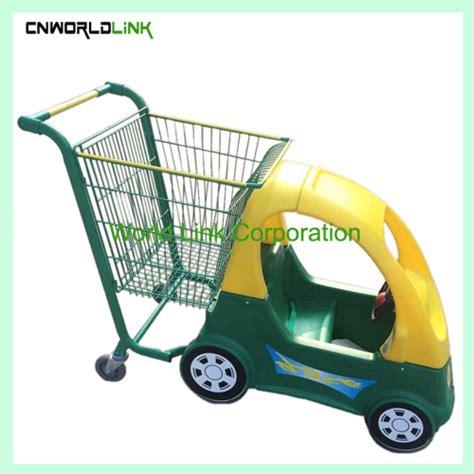 kid shopping cart heavy duty supermarket used steel convenience