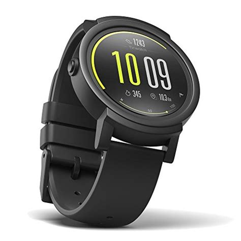 Ticwatch S Smartwatch ticwatch e smartwatch shadow 1 4 inch oled display android wear 2 0 compatible with ios and