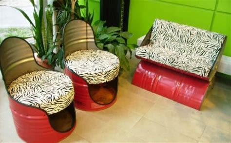 home decor ideas from waste three innovative furniture materials