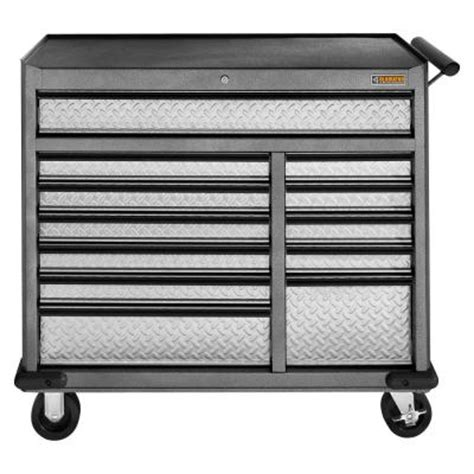home depot tool box gladiator premier series 41 in w 12 drawer rolling tool