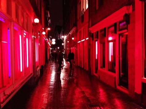 inside amsterdam s light district