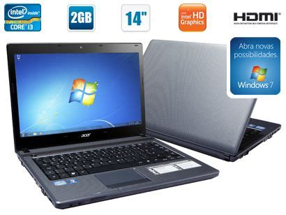 Laptop Acer I3 Di Medan notebook acer aspire c intel 174 i3 2gb ram 320 hd hdmi loja de casasbarateira