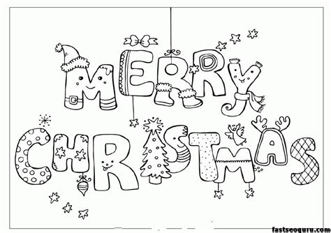 merry christmas coloring pages  coloring home