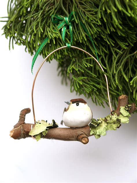 diy unique woodland bird ornament christmasornaments com