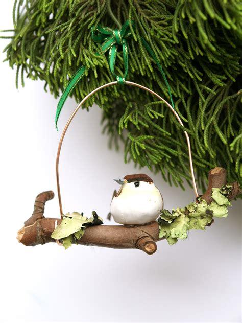 diy unique woodland bird ornament christmasornaments com