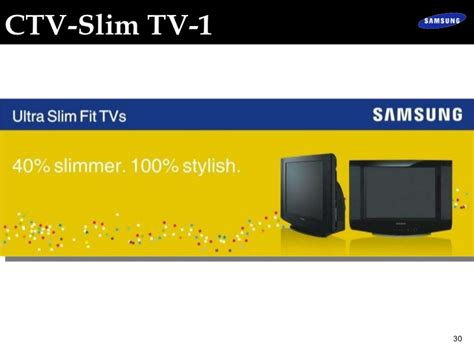 Tv Akari Ctv Slim project presentation samsung electronics