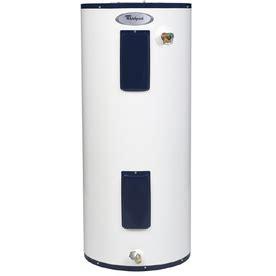 shop whirlpool 40 gallon 6 year regular electric water