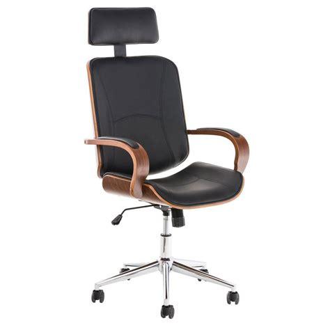 sedia da ufficio sedia da ufficio jutta design unico in legno e pelle