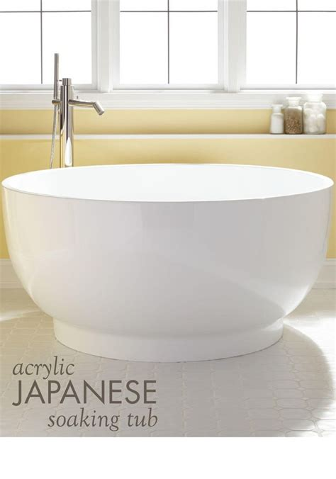 Small Japanese Bathtub by 25 Best Japanese Soaking Tubs Ideas On Wooden Bathtub Small Soaking Tub And