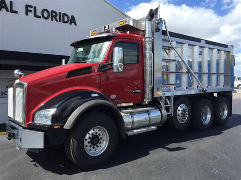 kenworth for sale in florida kenworth t880 dump trucks in florida for sale used trucks