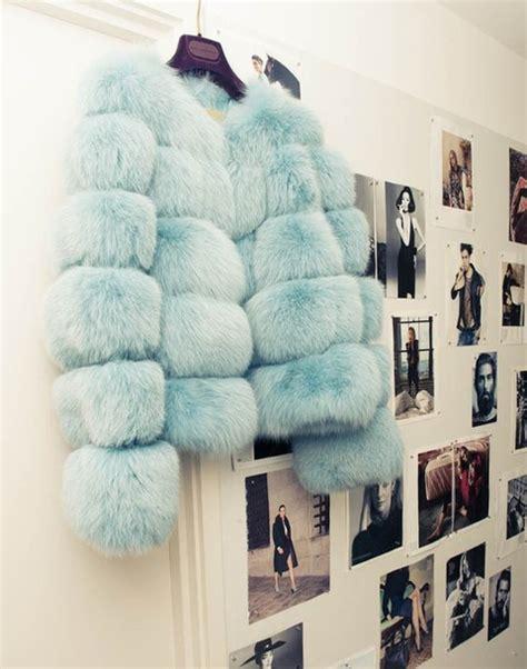 light blue fur coat jacket clothes fur cool light blue coat