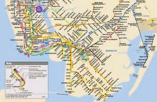 Nuc Subway Map by Printable New York City Subway Map Map Of Nyc