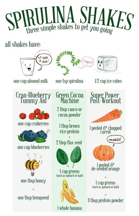 Side Effects Of Spirulina Detox by Spirulina Smoothies Cranberries Blueberries Honey