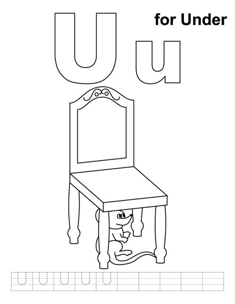 coloring pages for u letter u coloring page az coloring pages