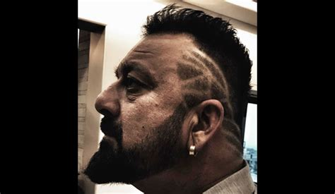 sanjay dutt long hair stayle sanjay dutt new hairdo for new movie will drive you crazy