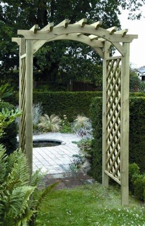 Garden Arch Ebay Uk Garden Arches Wooden Timber Garden Arches Arch
