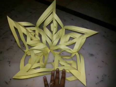 How To Make Paper Kandil - make snowflakes with paper diwali kandil