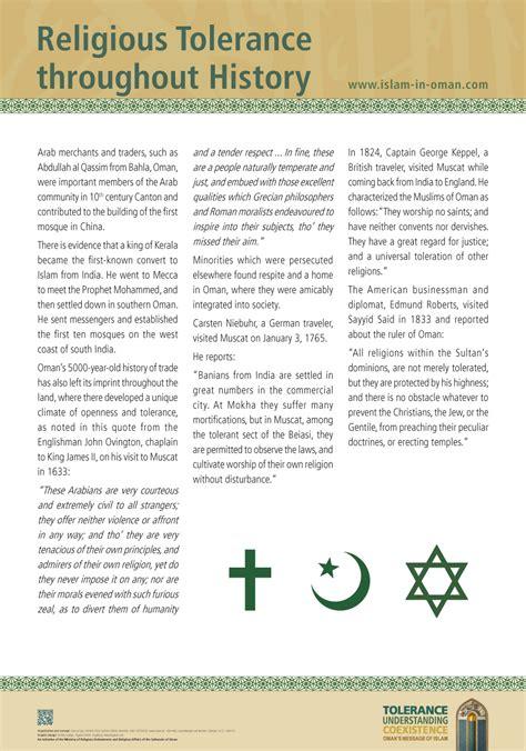 Religious Tolerance Essays by Sle Religious Tolerance Essays