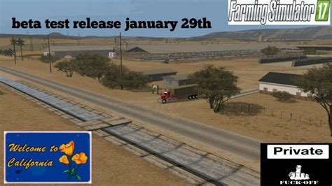california map fs17 california central valley v1 beta