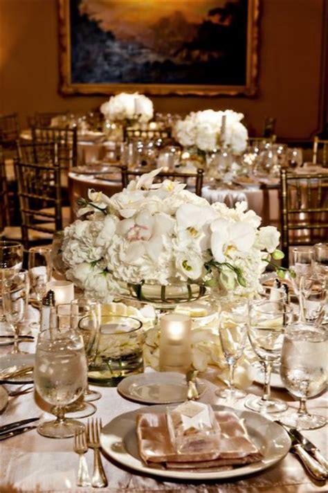 ivory wedding centerpieces gold ivory centerpiece centerpieces wedding reception